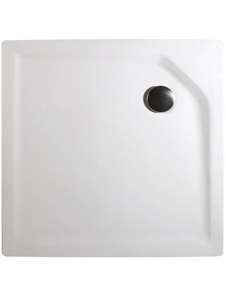 BREUER Duschwanne weiß 960cm x 9.5cm