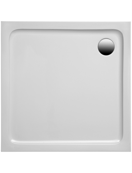 OTTOFOND Duschwannen-Set »Tasso«, BxT: 77 x 117 cm, weiß