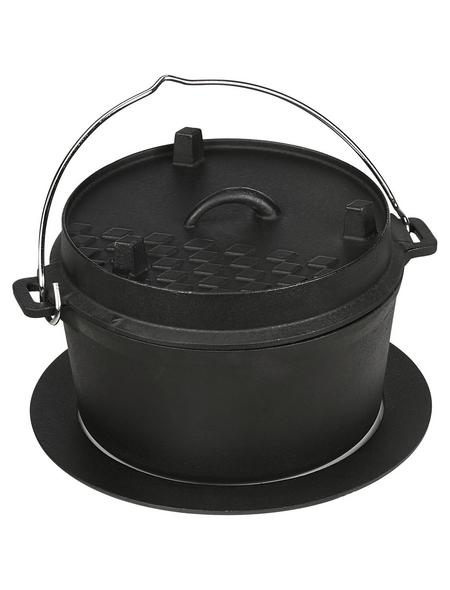 MR. GARDENER Dutch-Oven, Gusseisen, Höhe: 5 cm