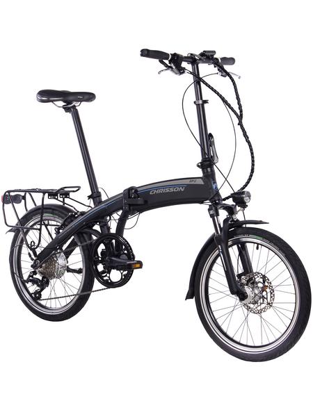 """CHRISSON E-Bike, 20 """", 9-Gang, 8.7 Ah"""