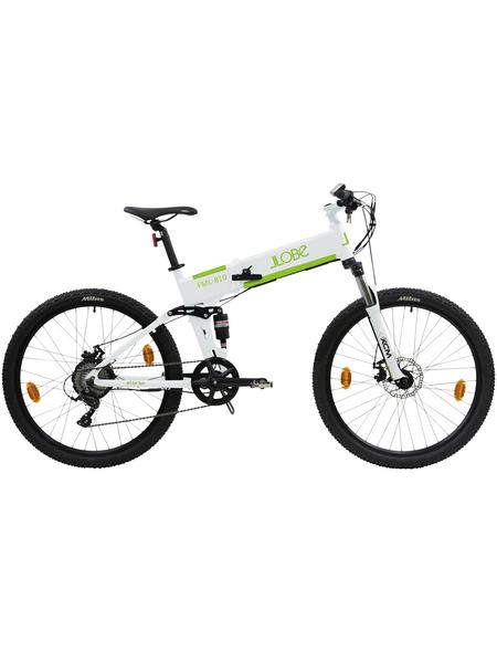 "LLOBE E-Bike, 26 "", 9-Gang, 10.4 Ah"