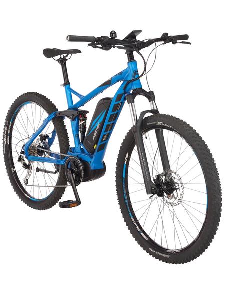 "FISCHER FAHRRAEDER E-Bike Blau 27,5 "", 9-gang, 11.6ah"