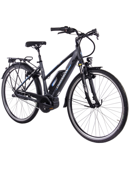 "CHRISSON E-Bike City, 30 "", 7-Gang, 8.3 Ah"