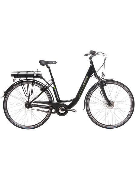 "HAWK E-Bike City »City Wave«, Schwarz 26 "", 7-gang, 11ah"