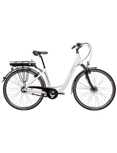 "HAWK E-Bike City »City Wave«, Weiß 26 "", 7-gang, 11ah"
