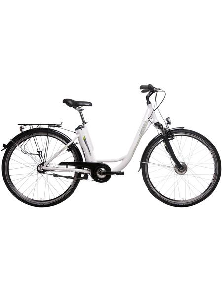 """HAWK E-Bike »City Deep Z«, Weiß 28 """", 7-gang, 5.8ah"""