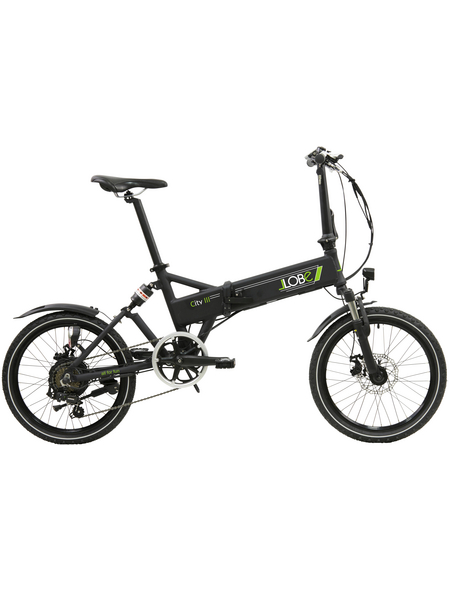 "LLOBE E-Bike »City III«, 20 "", 7-Gang, 10.4 Ah"