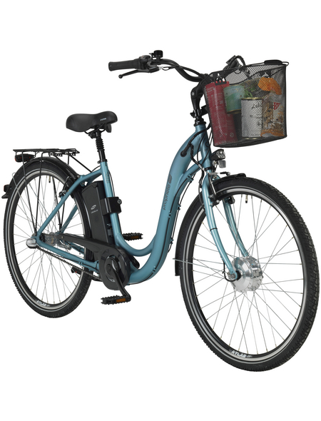 "PROPHETE E-Bike City Mattschwarz 28 "", 3-gang,"