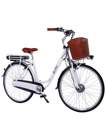 """LLOBE E-Bike City »Motion 2.0«, 28"""", 7-Gang, 10.4 Ah"""