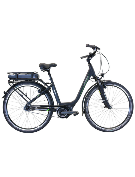 "HAWK E-Bike »City Wave Steps«, Schwarz 28 "", 7-gang, 14ah"