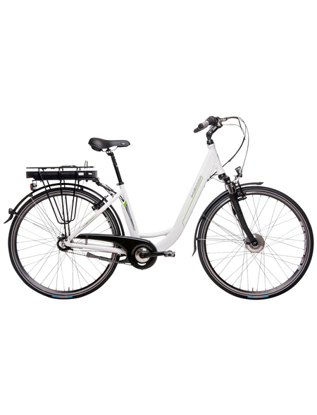"HAWK E-Bike »City Wave«, Weiß 28 "", 7-gang, 11ah"