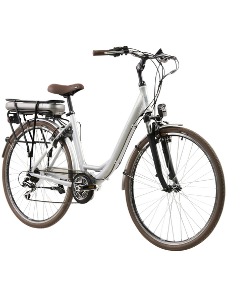"TRETWERK E-Bike »Cloud 2.0«, Silberfarben 28 "", 7-gang, 13ah"