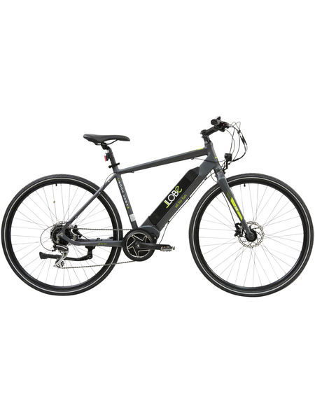 "LLOBE E-Bike »Cross Urban, 28 Zoll«, 28 "", 8-Gang, 10.4Ah"
