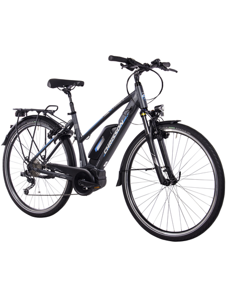 "CHRISSON E-Bike Damen »E-ROUNDER«, 29 "", 9-Gang, 8.3 Ah"
