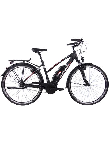"""CHRISSON E-Bike »E-Rounder«, 28"""", 7-Gang, 11 Ah, Trapez"""