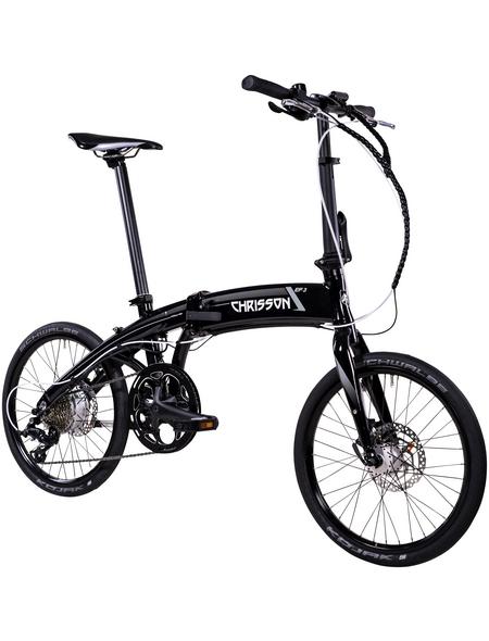 """CHRISSON E-Bike »EF3«, 16"""", 9-Gang, 8.7 Ah"""