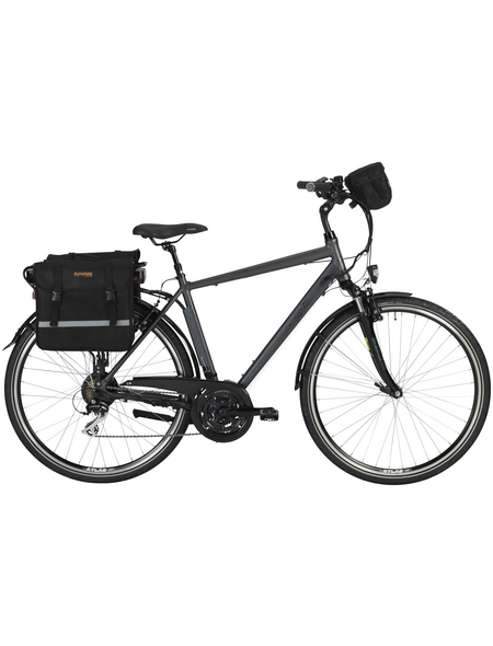 "PROPHETE E-Bike »Entdecker e900«, Anthrazit 28 "", 24-gang, 10.4ah"