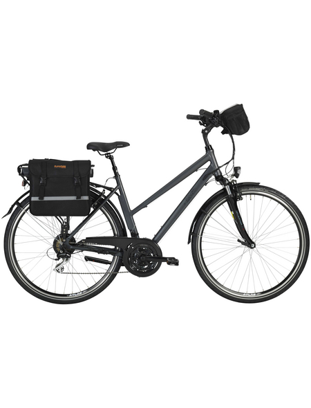 "PROPHETE E-Bike »Entdecker e900«, Anthrazit 28 "", 24-gang, 10.4ah"