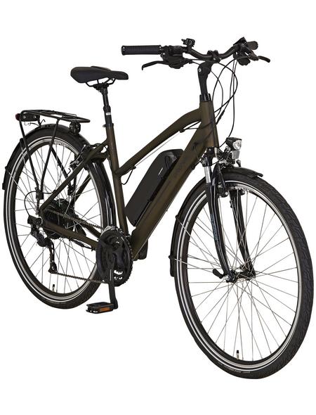 """PROPHETE E-Bike »Entdecker e9.6«, Dunkelbraun 28 """", 24-gang, 10.4ah"""