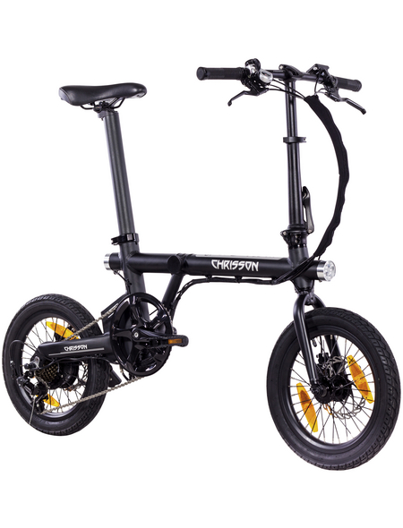 "CHRISSON E-Bike »Ertos 16«, 16"", 7-Gang, 7 Ah"