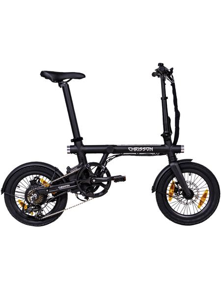 "CHRISSON E-Bike »Ertos 16 2.0«, 16"", 7-Gang, 6.7 Ah"