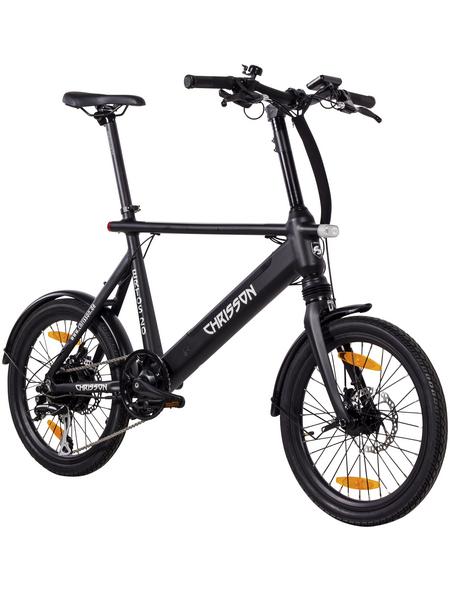 "CHRISSON E-Bike »Ertos 20«, 20"", 8-Gang, 10 Ah"
