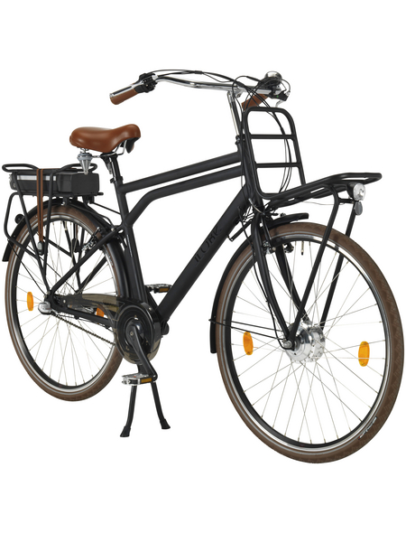 "LLOBE E-Bike Hollandrad Schwarz 28 "", 3-gang, 10.4ah"