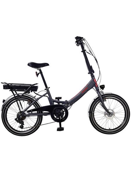 "TELEFUNKEN E-Bike »Kompakt F810«, 20 "", 7-Gang, 9 Ah"