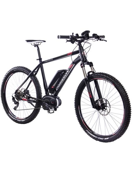 "CHRISSON E-Bike Mountainbike »E-Mounter 2.0«, 27,5 "", 10-Gang, 11.1 Ah"