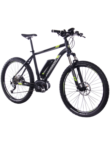 "CHRISSON E-Bike Mountainbike »E-Mounter«, 27,5 "", 9-Gang, 8.3 Ah"