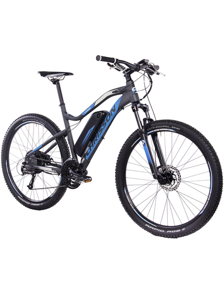 "CHRISSON E-Bike Mountainbike »E-WEGER«, 27,5 "", 27-Gang, 10.4 Ah"