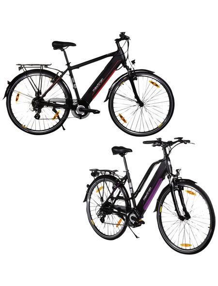 "MAXTRON E-Bike »MT-1 + MT-2«, 28"", 8-Gang, 11.6 Ah"