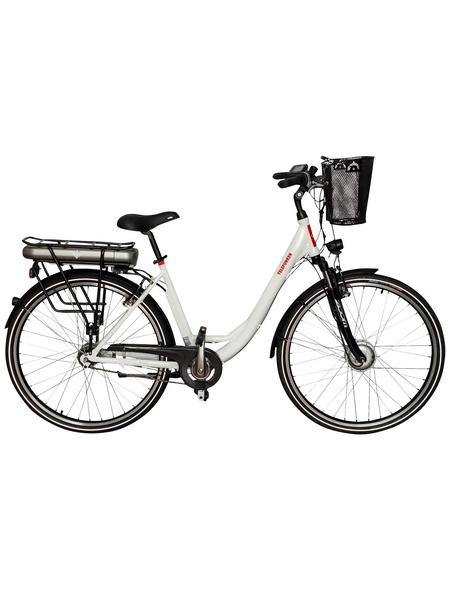 "TELEFUNKEN E-Bike »Multitalent«, Weiß 28 "", 7-gang, 13ah"