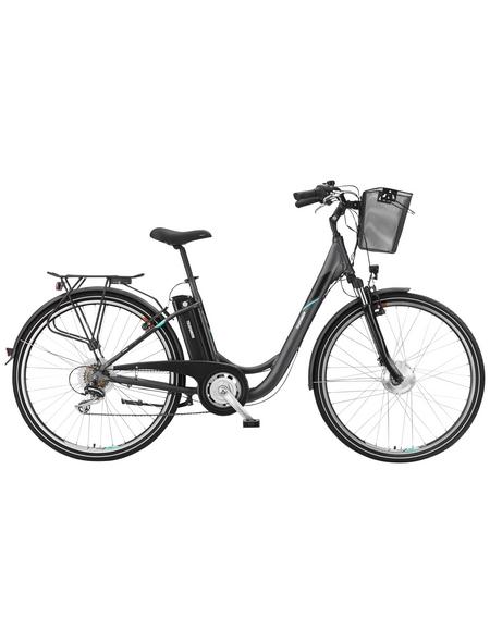 """TELEFUNKEN E-Bike »RC735 Multitalent«, Anthrazit 28 """", 7-gang, 10.4ah"""