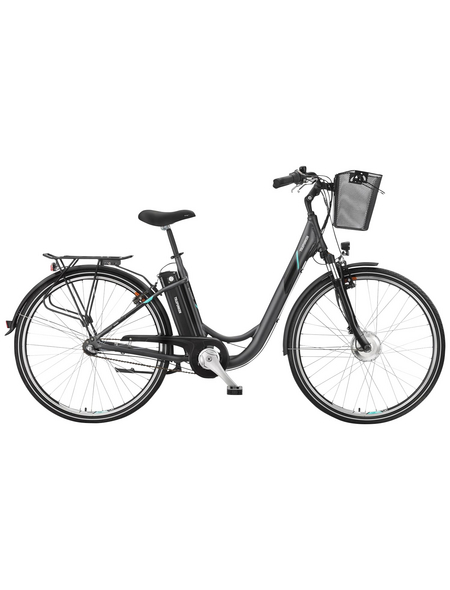 "TELEFUNKEN E-Bike »RC745 Multitalent«, Anthrazit 28 "", 3-gang, 10.4ah"