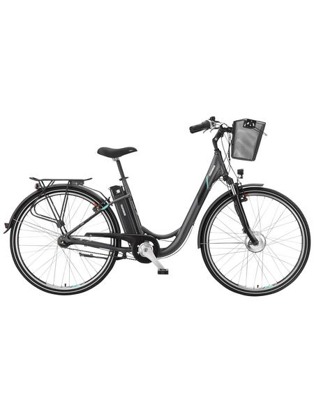 """TELEFUNKEN E-Bike »RC755 Multitalent«, Anthrazit 28 """", 7-gang, 10.4ah"""