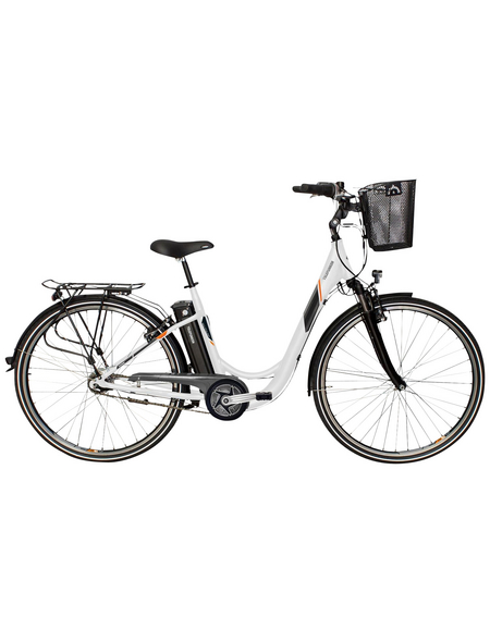 "TELEFUNKEN E-Bike »RC766 Multitalent«, Weiß 28 "", 7-gang, 10.4ah"