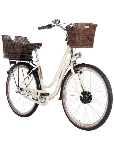 """FISCHER FAHRRAEDER E-Bike »Retro«, Elfenbeinfarben 28 """", 3-gang, 8.8ah"""