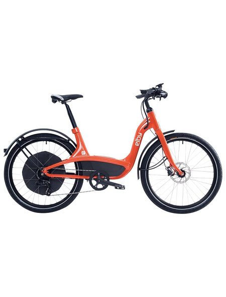 "ELBY E-Bike »S1«, Orange 26 "", 9-gang, 11.6ah"