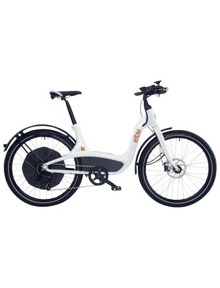 "ELBY E-Bike »S1«, Weiß 26 "", 9-gang, 11.6ah"