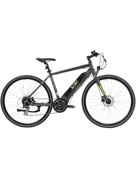 "LLOBE E-Bike Schwarz 28 "", 8-gang, 10.4ah"