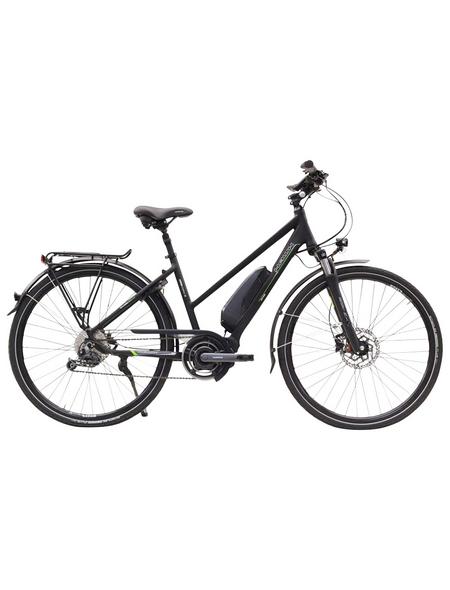 "HAWK E-Bike »STEPS«, Schiefergrau 28 "", 9-gang, 14ah"