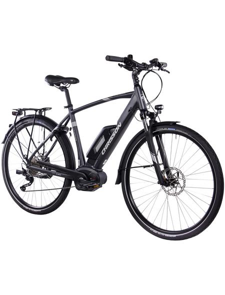 "CHRISSON E-Bike Trekking, 32 "", 10-Gang, 11.1 Ah"