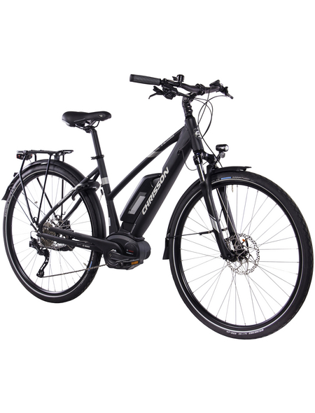 "CHRISSON E-Bike Trekking, 33 "", 10-Gang, 11.1Ah"