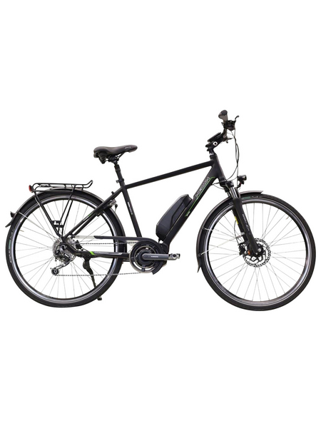 "HAWK E-Bike »Trekking Gents STEPS«, Schwarz 28 "", 9-gang, 14ah"