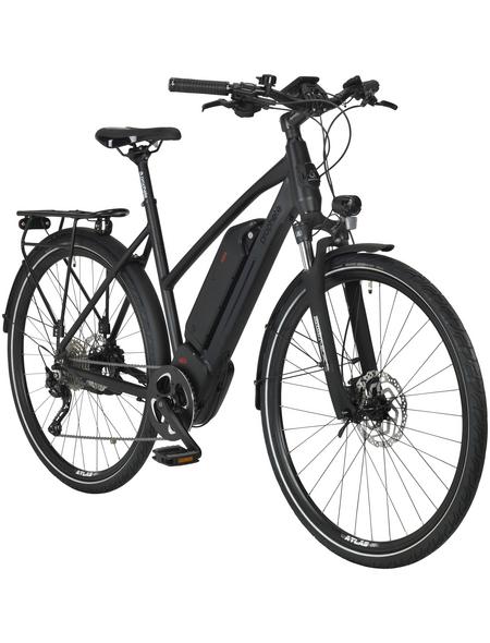 "PROPHETE E-Bike Trekking Mattschwarz 28 "", 10-gang,"