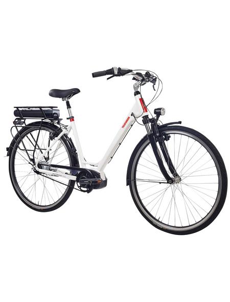 "TELEFUNKEN E-Bike Weiß 28 "", 8-gang, 14ah"