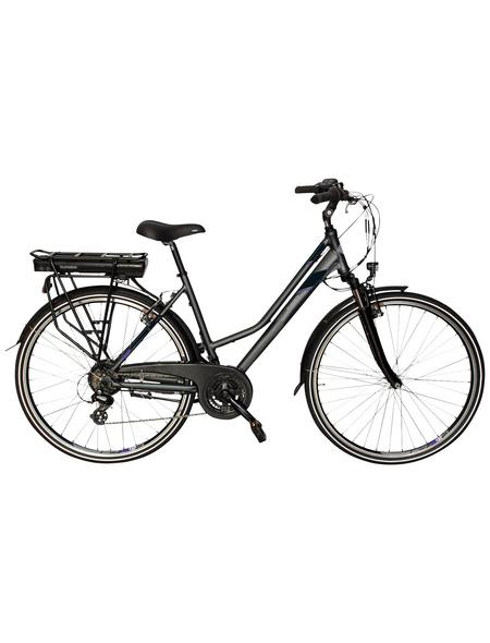 """TELEFUNKEN E-Bike »XT469 Expedition«, Anthrazit 28 """", 21-gang, 10.4ah"""