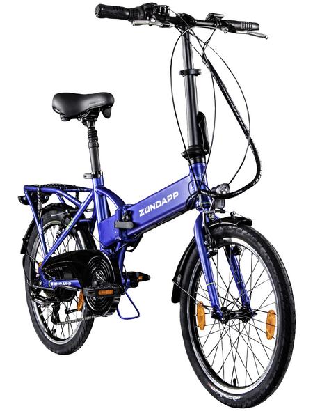"""ZÜNDAPP E-Bike »Z101«, 20"""", 6-Gang, 7.5 Ah"""