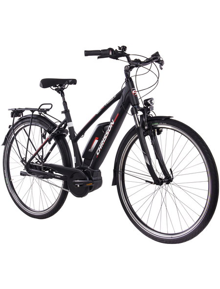 "CHRISSON E-Citybike »E-Rounder«, 28 "", 7-Gang, 8.2 Ah"